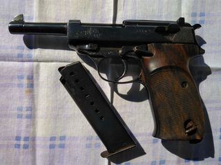 Walther P 38, 1943,with Holster