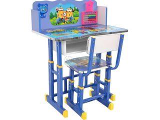 Set de masa cu scaune DA-26 MINION albastru Produs Nou / Набор стола и стульев DA-26 MINION синий