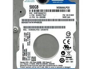 "80-160-320GB 2.5"" HDD pentru Laptop"
