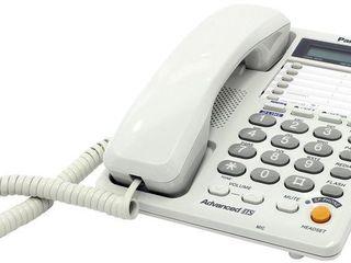 Двухлинейный проводной телефон Panasonic c ЖК-дисплеем - KX-TS2368RUW