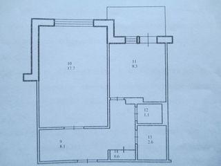 2/9. 41,6m2    Продается   1- 3-х комнатная квартира,  можно с мебелью. Цена договорная.