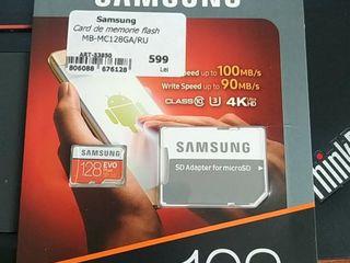 Samsung Evo plus 128gb class 10 u3