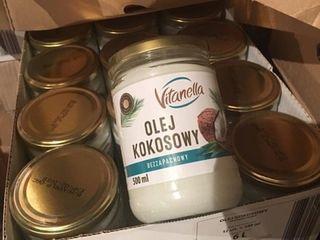 Натуральное рафинированное кокосовое масло 0,500 грамм