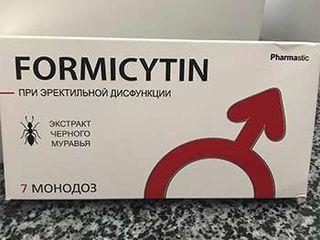 Formicytin - средство для потенции: продлевает половой акт до 3 раз!