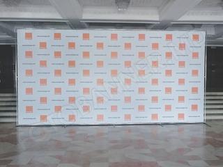 Presswall, foto banner  fotopanou, fotostand, panou foto, pentru conferinte, expozitie, corporative