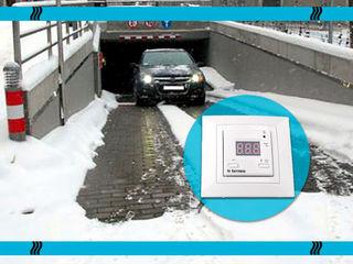 Снеготаяние для дорожек, ступеней, заездов и выездов. Саморегулирующийся кабель. Скидки!