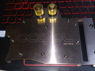 водоблок для видеокарт hd 7970 Охлаждение для Radeon HD 6850