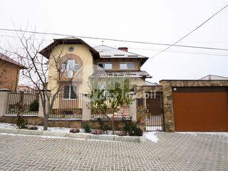Casă în 4 nivele, 283 mp, teren 6 ari, reparație euro, Stăuceni 227000 €