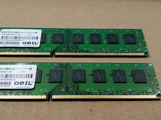 RAM - GEIL DDR3 - 8GB PC3-12800 1600GHz