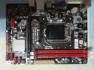 Biostar H61MLV2 .LGA 1155.700лей.С процессором i5 2320=1000лей