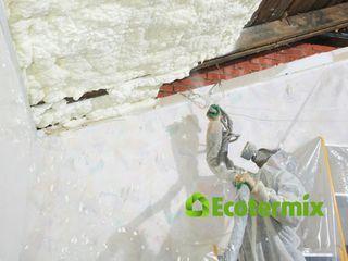Напыляемая теплоизоляция ппу, EcotermixBio - гарантия качества!