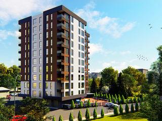 Doar un apartament disponibil 58,17m2 cu priveliște spre parc