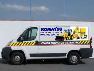 Deservire tehnica si reparatii Komatsu, cat, jcb, Fiat hitachi, case, terex