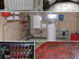 Instalații și sisteme de încălzire