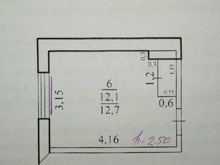 Комната в блоке 13, м. 2., 7 эт/9, ул. Вершигоры дом 93, 1500 $.
