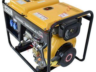 Дизельный генератор Hagel 6000CL cu livrare gratis in toata tara si garantie inclusa.