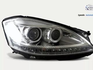 mercedes w221 faruri facelift