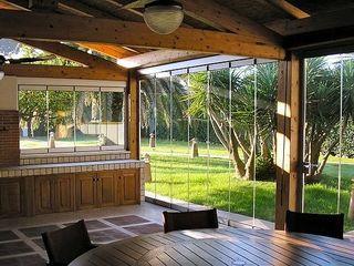 Sistem cu geamuri culisante pentru balcon, terase și nu numai. Безрамное остекление.