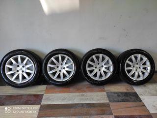 Vând set discuri cu scaturi Michelin Alpin 6 cadou pentru Peugeot