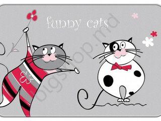 Covoras de baie Tatkraft Fanny Cats