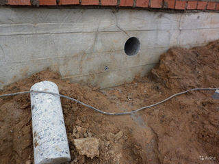 Бурения отверстий алмазное сверление проводим воду канализацию в дом Копаем канализаций водопровод я