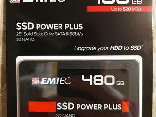 Новый запечатанный SSD SATA на 480gb - 950 лей