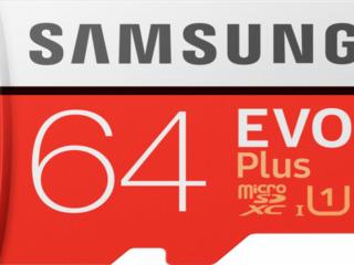 Флэш карта памяти Samsung MB-MC64HA/RU