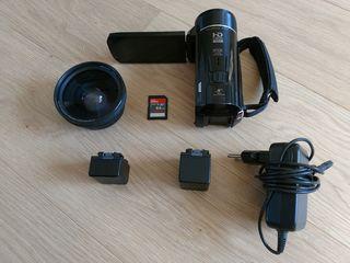 Отличная камера для семейных и любительских съемок с аксессуарами по отличной цене.