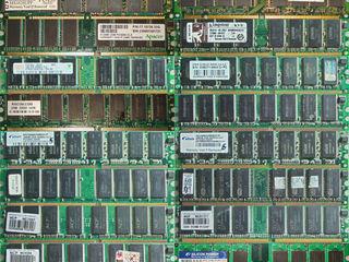 Оперативная память (RAM) SDRAM, DDR1, DDR2, DDR3, SO-DIMM