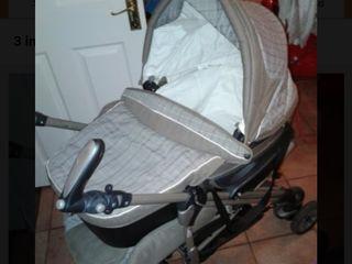 Carucior 3 in 1 cu auto-scaun