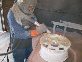 Пескоструйная обработка металлических изделий !
