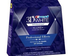 Отбеливающие полоски crest 3d white - professional effects