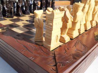 Продам деревянные шахматы ручной работы!!!