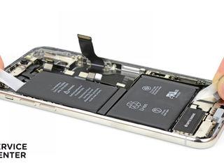 Iphone X Bateria nu se încarcă? О vom înlocui fără probleme!