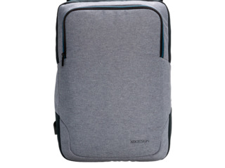 Рюкзак xd-design arata 15.6''/ черный серый