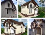 Constructia caselor particulare la gri/la rosu/proiect gratis