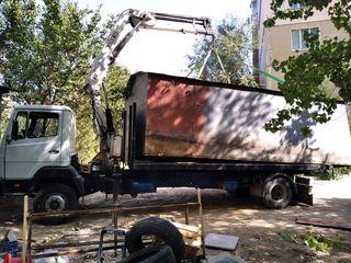transport cu cran manipulator sau cu samosfal Грузоперевозки