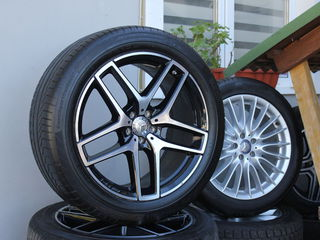 R21 новые amg разно широкие диски с шинами Continental на mercedes benz gle-coupe