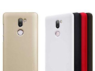Xiaomi Mi 5S Plus чехол Nillkin Frosted Shield + защитная плёнка