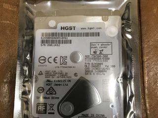 Hard disk Hitachi 2.5 slim, pentru laptop/ sigilat(запечатан) 750 lei nou !