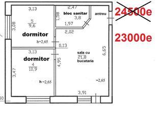 первый этаж. дом сдан в эксплуатацию, 7000€ первый взнос – рассрочка до 5 лет