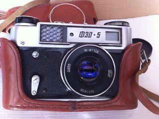 Фотоаппарат ФЭД-5.