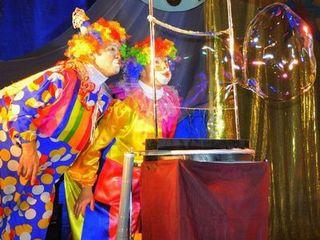 Шоу мыльных пузырей на праздники.Show, bule de sapun. Клоун Арлекино.ru/rom 14-49€