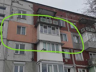 Большая 2-ух комнатная квартира
