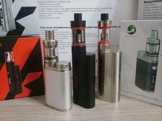 электронные сигареты по 550лей + жижа + подарок power bank. доставка 0 лей