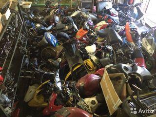 Разборка  мототехники  японцы , итальянцы , корейцы , китайцы .