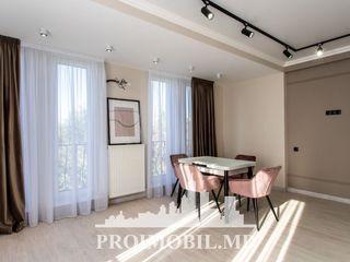 Centru! bloc nou, 3 camere luminoase, geamuri panoramice, autonomă! 100 mp!