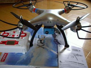 Большой мощный дрон Syma X8 для фото-видео съемки. Камера Ultra HD 12 Mp!
