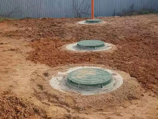 Inele din beton Burlane pentru fintini Sapam canalizare septic WC Sapam canalizare