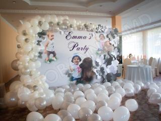 Decoratuini pentru cumatrie, Decor cu baloane